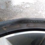 タイヤ側面のこぶは大変危険です!もしも見つけた場合は早めの対処が必要です