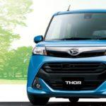 1Lクラスのコンパクト ダイハツ『THOR(トール)』 タイヤサイズは175/55R15か165/65R14が設定されています