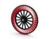 空気いらずでパンクの心配がない「エアフリーコンセプト」の自転車タイヤが開発されました