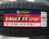 グッドイヤーの新商品『EAGLE F1 SPORT』のご注文をいただきました!